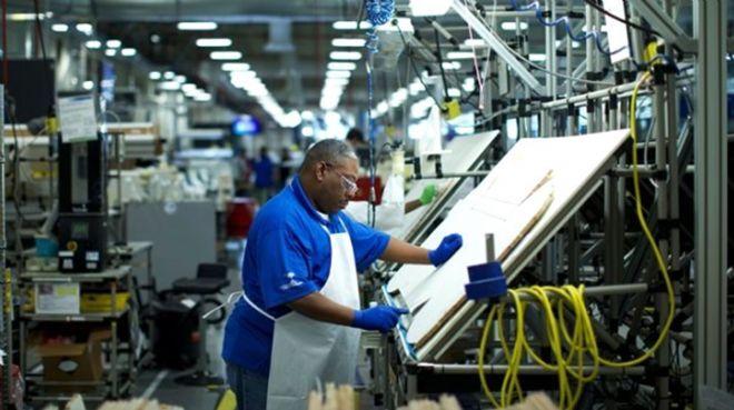 ABD`de imalat PMI mayısta yükseldi
