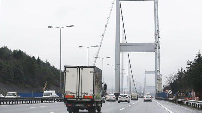 Köprü geçiş cezalarının iadesi için son başvuru 28 Şubat`ta